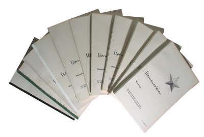 Buch binden - verschiedene Arten