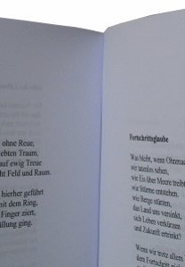 Buch binden - Klebebindung