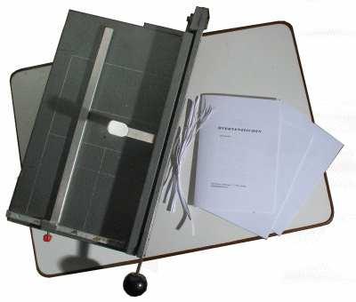 Buch binden - Hefte säumen