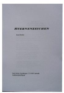 Buch binden - rückenverleimter Block