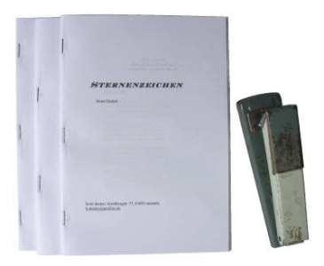 Buch binden - Hefte klammern