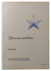 Buch binden - das fertige Paperback mit dreiteiligem Einband
