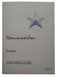 Buch binden - fertig gebundenes Paperback