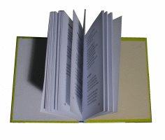 das fertige Buch