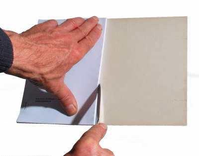 Buch binden - Einband herstellen