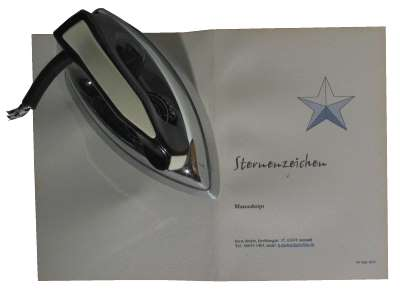 Buch binden - zweiteiliger Einband