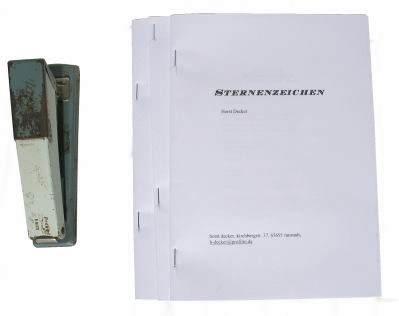 Buch binden - geleimter Buchblock