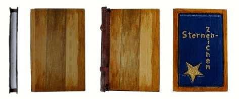 Holzeinband Montage