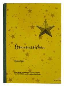 Buch binden - fertiges Hardcover, gefertigt aus Softcover