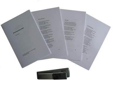 Buch binden - Teilblock bilden